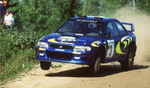 El Subaru Impreza WRC de Colin McRae, a la venta