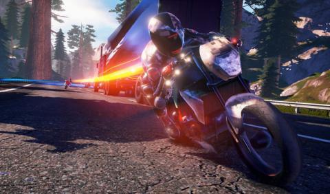 Prepárate para quemar goma en el videojuego Motor Racer 4