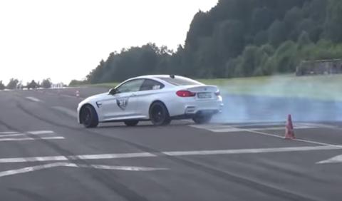 BMW hace el ridículo en una drag race