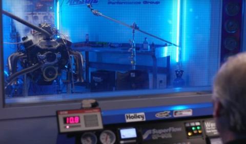 Vídeo: Un motor gripado a base de óxido nitroso