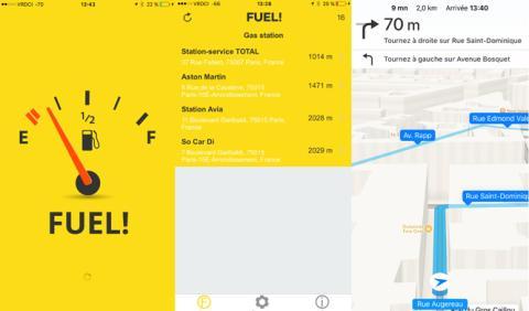 Fuel!, la app que te lleva a la gasolinera más cercana