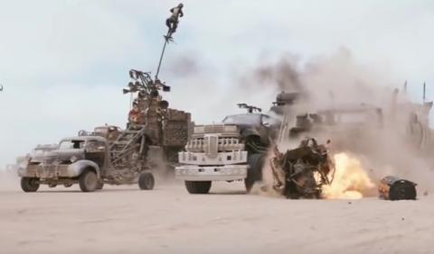 ¡Flipa! Los espectaculares efectos de Mad Max: Fury Road