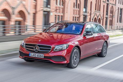 Prueba: Mercedes Clase E Estate 2016 ciudad dinámica