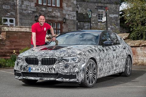 ¡Lo probamos! BMW Serie 5 2016