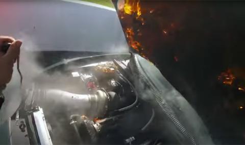 Vídeo: este Toyota Supra con 1.500 CV sale ardiendo