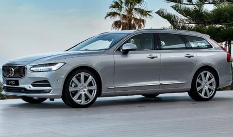 mejores coches nuevos Volvo V90