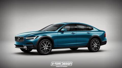 Volvo S90 Cross Country: así podría ser