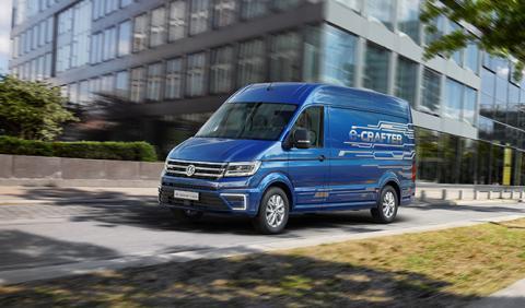 VW e-Crafter, lista para el trabajo en 2017