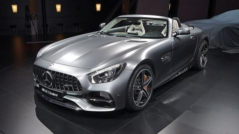 Mercedes AMG GT C Roadster frontal