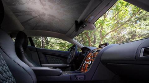Aston Martin V8 Vantage S Forest Edition interior