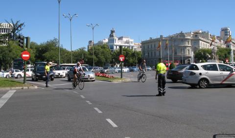 Madrid se cargará el tráfico en el centro de la ciudad