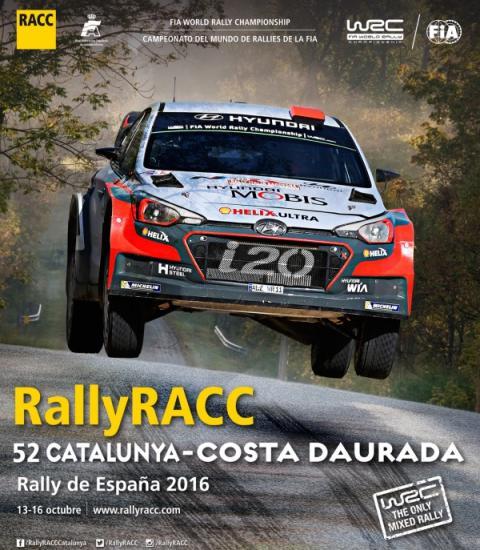 Cartel oficial del Rally de Catalunya 2016