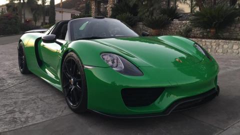 venta Porsche 918 Spyder único
