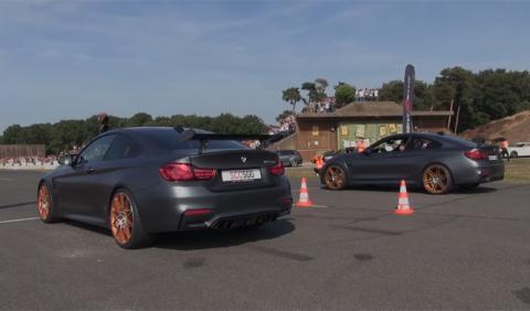Vídeo: duelo entre dos BMW M4 GTS, M5 y Corvette