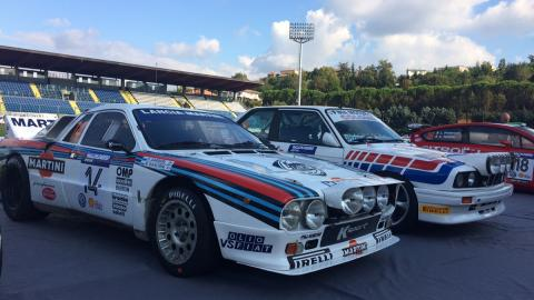 Rallylegend 2016: Lancia Rally 037 (1984)