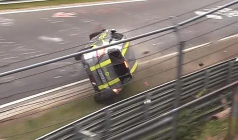 Espectacular accidente de un Suzuki Swift en Nürburgring
