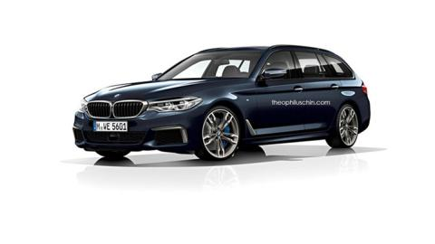 BMW Serie 5 Touring 2017: así lo han imaginado