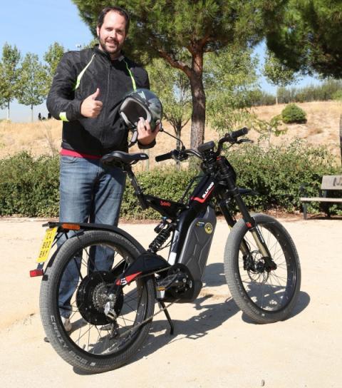 Prueba Bultaco Brinco S