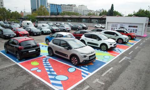 El Urban Tour de Citroën llega a Madrid, en fotos