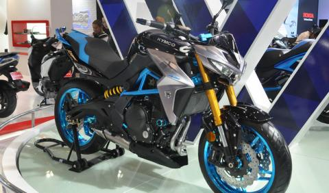 KYMCO K-Rider 400: KYMCO se pasa a las naked