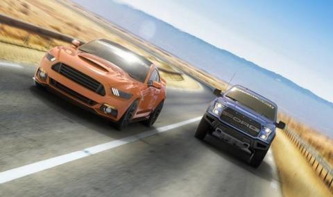 American Muscle presenta este Ford Mustang y Ford Raptor