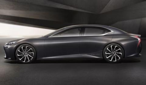 La respuesta de Lexus al Mercedes-AMG S63