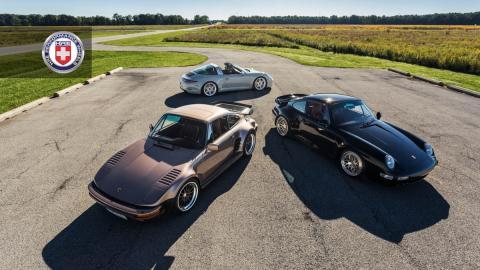 Porsche 911 Targa, 993, 930 Turbo by HRE