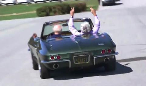 Vídeo: el Corvette de 1967 del vicepresidente de EE.UU.