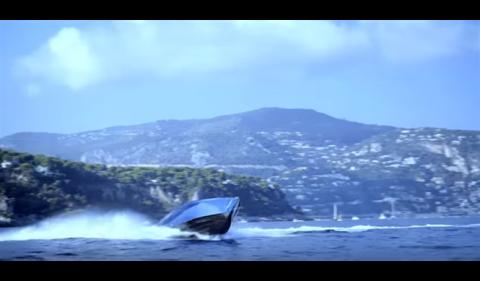 VÍDEO: el yate Aston Martin AM37, a tope en Mónaco