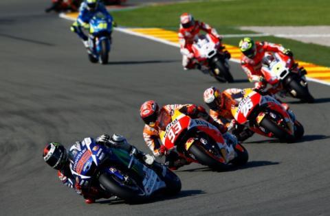 Los horarios de MotoGP, Valencia 2016