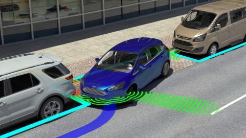 Probamos las últimas tecnologías de aparcamiento de Ford