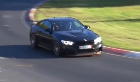 Vídeo: un BMW M4 GTS en su hábitat natural, Nürburgring