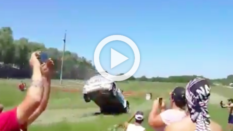 Vídeo: terrible accidente de David Nalbandian en un rally