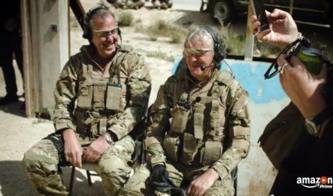 Vídeo: Clarkson, Hammond y May aseguran el caos definitivo