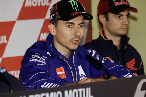Jorge Lorenzo se despide de Yamaha con una carta