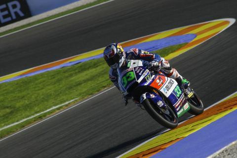 Libres Moto3 Valencia 2016: Bastianini reina en la igualdad