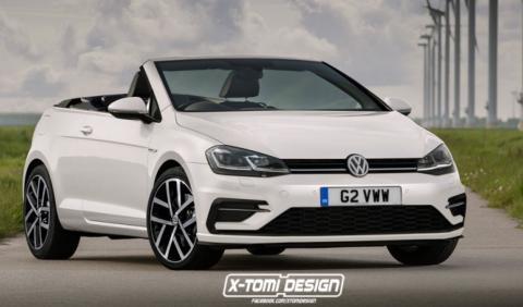 Nuevo Volkswagen Golf Cabrio: así podría ser