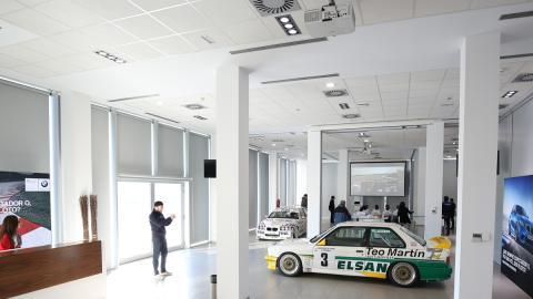 BMW M6 GT3 Teo Martín Motorsport: vuelta en el Jarama