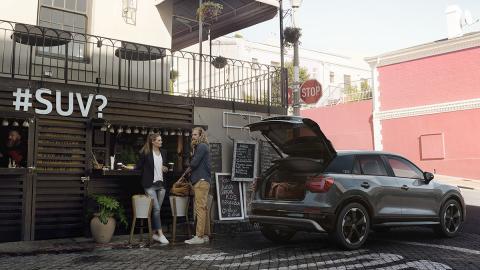 Gracias a un diseño fresco y rompedor el nuevo SUV más compacto de Audi puede pr