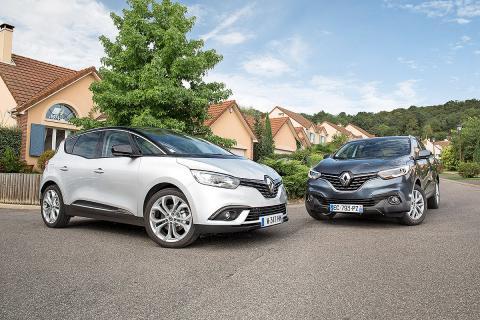 Duelo fratricida: Renault Kadjar vs Renault Secénic