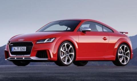 Así de extraña es la comercialización del Audi TT RS
