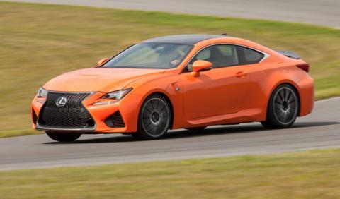 Lexus actualiza los RC F y GS F en Estados Unidos
