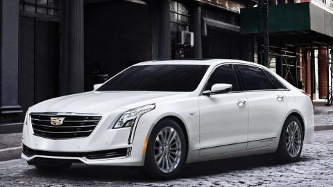 Cadillac CT6 PHEV frontal