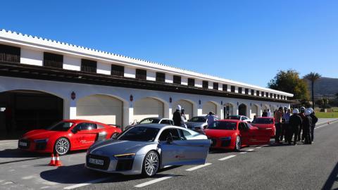Audi Sportscar Driving Experience 2016 en Ascari
