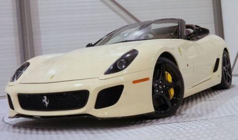 Venta Ferrari 599 GTO SA Aperta