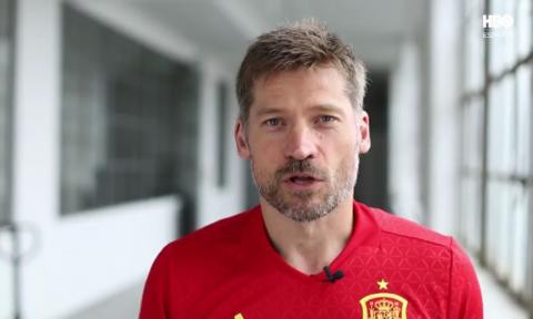 Jaime Lannister se pone la camiseta de la selección por HBO