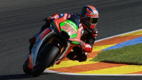 Sam Lowes puede caerse de MotoGP: Aprilia piensa en Laverty