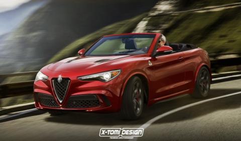 Así podría ser el Alfa Romeo Stelvio Spider