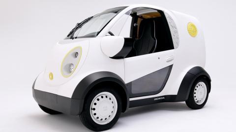 coche 3D de honda