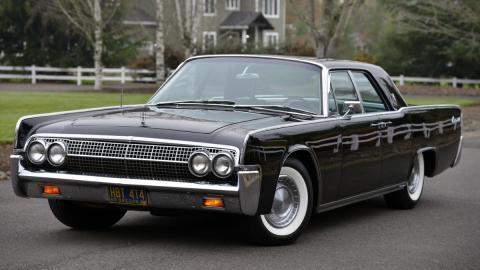 Subasta Lincoln Continental 1963